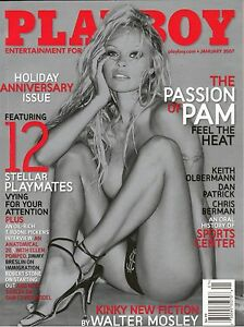 PAMELA ANDERSON PLAYBOY Magazine JANUARY 2007 THE PASSION OF PAM 12 PLAYMATES