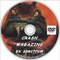 Crash Magazine Collection, ZX SPECTRUM  98 Issues on DVD