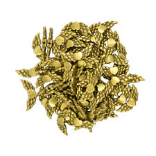 50pcs Retro Angel Wings Antique Bronze Charms Pendants DIY Jewelry Findings