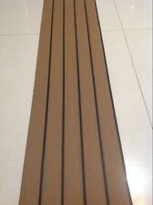 25 Meter Roll Boat Yacht Synthetic Teak Deck 50mm Wide With Black Caulking