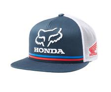 FOX RACING HONDA SNAPBACK CAP. NAVY