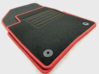 !!! NEU !!! Original Lengenfelder Fußmatten für Citroen C3 Aircross + Rand ROT