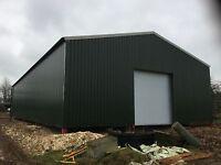Allen fabrications,steel buildings agricultural/industrial portal frames, 60x40