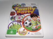 Family Party Nintendo Wii PAL *Complete* Wii U Compatible