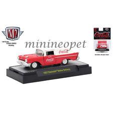 M2 MACHINES 52500-RW02H COCA COLA 1957 CHEVROLET SEDAN DELIVERY 1/64 RED