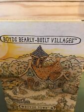 Boyd's Bears Bearly Built Villages Emily's Carrot Cottage