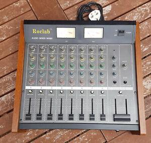 Vintage 1980s Roclab Audio Mixer MX881