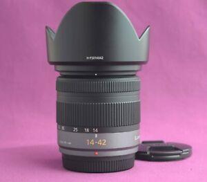 Panasonic Lumix 14-42mm zoom lens MFT G Vario Mega OIS 3.5-5.6 ASPH 2177B