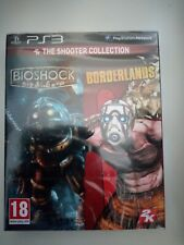 bioshock borderlands the shooter collection ps3 ps 3 playstation 3 neuf