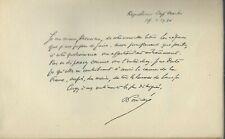 Raymond Poincaré : les responsabilités de la guerre avec dédicace et autographe