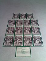 *****Greg Montgomery*****  Lot of 16 cards / Michigan State / Football