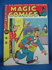 MAGIC COMICS 32 Fine Blondie Popeye Lone Ranger 1942