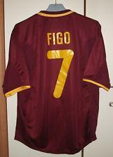Portugal 2000 - 2002 Home football shirt jersey Nike size M #7 Figo
