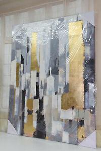 Impressionen Leinwand Gemälde Bild Abstract Handarbeit