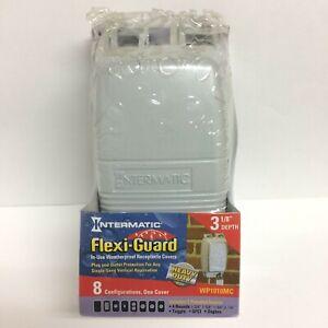 "Intermatic Flexi-Guard Weatherproof Receptacle Cover - 3 1/8"" Depth - WP1010MC"