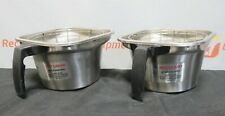 Fetco Stainless Steel Brew Brewer Basket Coffee Wire Guards 8X8X5.5 Lot of 2