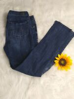 American Eagle Outfitters Women's jeans SZ 12 Skinny Stretch Distressed