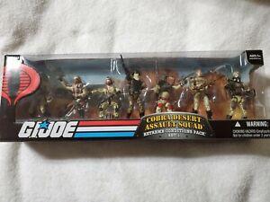 GI Joe 2008 25th Anniversary Cobra Desert Assault Squad Online exclusive 8 pack
