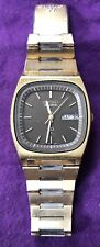 Vintage Seiko SQ 7546 5069 Quartz Mens Wristwatch