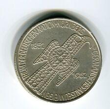 5 DM Silber 1952 Germanisches Museum original und echt (B7)