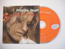 PRISCILLIA HAYAT : AVEC LE COEUR, AVEC LES YEUX ♦ CD SINGLE PORT GRATUIT ♦