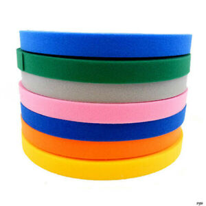 15/20/25mm Double Sided Hook and Loop Tape Fastener Cable Ties Strap Multicolor