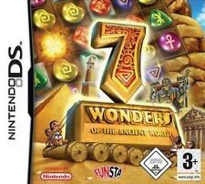 NINTENDO DS Dsi Lite 7 WONDERS OF THE ANCIENT WORLD *DEUTSCH NEU
