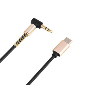 Type‑C To 3.5mm Cable Usb Cable Stream Music From Your Cellphone To Car Speaker