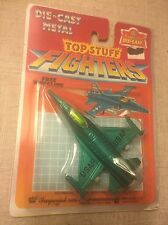 Vintage 1987 Imperial Toys Die-Cast F-16 Top Stuff Fighters NEW/SEALED 1:175