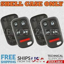 2 For 1999 2000 2001 2002 2003 2004 Honda Odyssey  Remote Shell Case Fob Cover