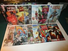 Ms. Captain Marvel High Grade 11 Comic Lot #0 1 2 Life of #1-2 Dark Origins +