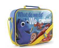 High Quality Disney Lunch Bag with zipper, Padded Handle & Shoulder Strap