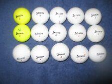 15 Srixon Z Star Model Golf Balls - Aaa Condition = Great Buy