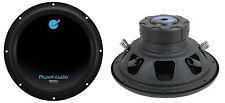 """PLANET AUDIO AC12D 12"""" 3600W Car Audio Power Subwoofers Subs Woofers DVC (Pair)"""