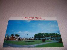 1970s Red Rose Motel Elizabethtown Pennsylvania Vtg Postcard