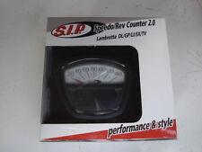 Latest V2 SIP White Series 3 Lambretta digital speedo rev counter, fuel warning