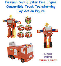 Fireman Sam Jupiter Fire Engine Convertible camión la transformación de juguete figura de acción