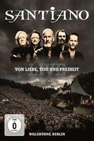 SANTIANO - VON LIEBE,TOD UND FREIHEIT-LIVE   DVD NEW+