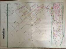 1899 LANCASTER, WARWICK, LITITZ PA PLATS 7, 8, 9, 10 ATLAS MAP