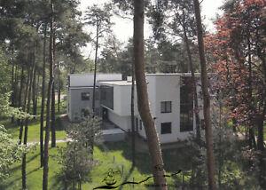 Postkarte: Meister-Doppelhaus Muche-Schlemmer / Fotografie: Wolfgang Thöner 2008