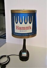 ~Hamm'S Beer~ Motion Lamp Double Rotating Back Bar Advertisement ~Desk or Wall~