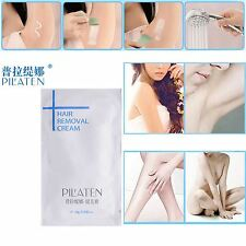 10-10g PILATEN Natural Hair Removal Depilatory Cream Painless-Free US Shipping!!