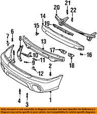 SUBARU OEM 95-99 Legacy Front Bumper-Stay Support Bracket Left 57714AC050