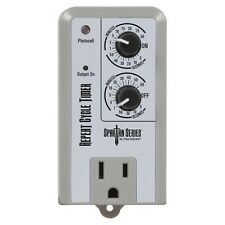 Titan Controls Repeat Cycle Timer Single Outlet 120V - Spartan Series