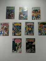 Lot Of 9 Marvel Comics Guardians Of The Galaxy Starriors Power Pack Talon
