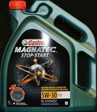 5 Liter Castrol Magnatec 5W-30 C3 Motoröl  5W30 VW BMW LL04 Dexos2 MB 229.31