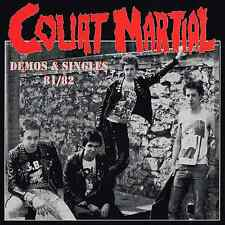 COURT MARTIAL - DEMOS & SINGLES 81/82 (brand new LP c/w 8 page booklet) REF015LP