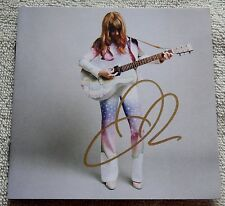 Jenny Lewis Signed The Voyager CD Booklet Auto With Brand New Still Sealed CD