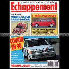 ECHAPPEMENT N°255 FIESTA XR2i SHELBY GT 350  GOLF GTi 16S KADETT CORSA GSi 1990