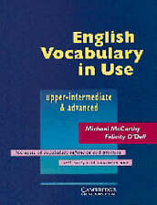 English Vocabulary in Use Upper-intermediate & advanced by McCarthy, Michael, O